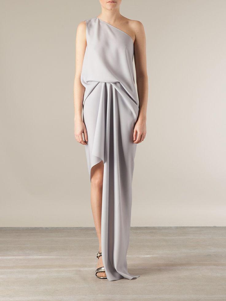 Maison Rabih Kayrouz Draped Asymmetric Gown