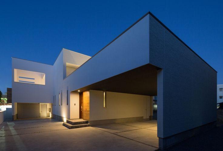 外観事例:外観(A2-house「shell house」)