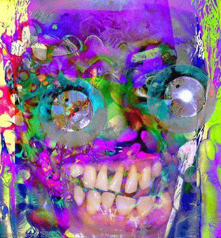 Medienfresser Horror Pop Art PopSurrealism NeoExpressionism