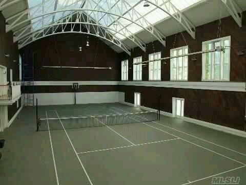 Indoor Home Tennis Court~