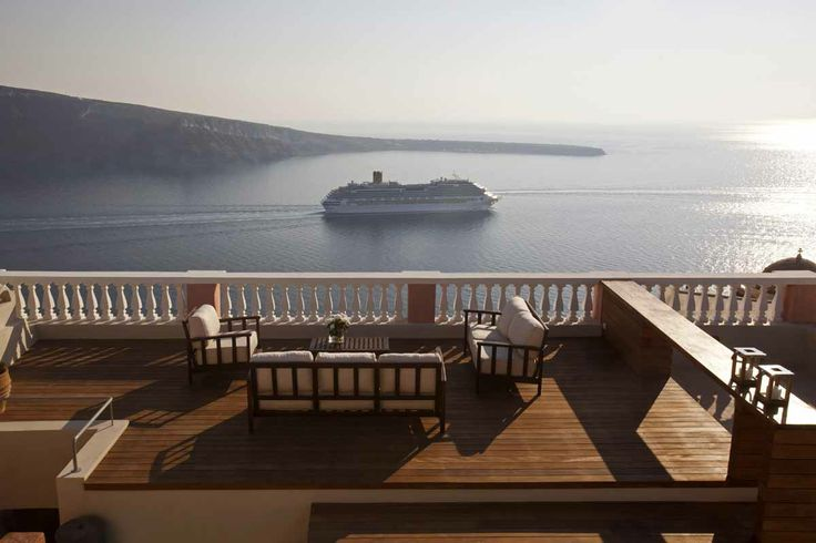 Enjoy the View.. at Oia Mansion in Santorini