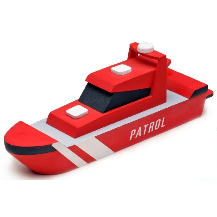 Mi primer kit en madera: Patrullera // My First Wooden Kit: Patrol Boat