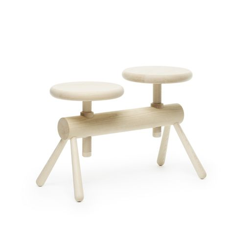 Wooden bench collection modelled on piano stools by Mia Cullin  sc 1 st  Pinterest & 210 best ? SEATING images on Pinterest | Product design Chairs ... islam-shia.org