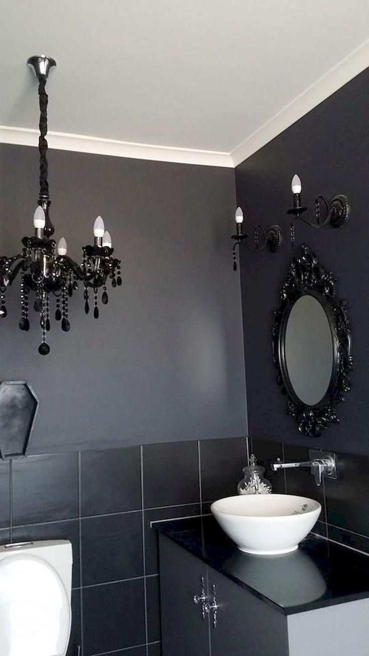 40 Newest Gothic Bathroom Design Ideas House Decor Ideas