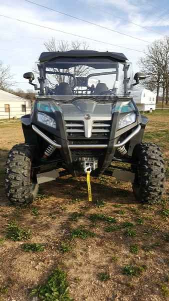 Used 2013 Cfmoto ZFORCE 600 EX ATVs For Sale in Missouri. 2013 CFMoto ZFORCE 600 EX, 2013 CFMoto ZFORCE 600EX THE GAME CHANGER. NOW ALL DIALED UP. When we introduced the ZFORCE 600 Side x Side, we knew we had a winner. With the new ZFORCE 600EX, it s nothing but more good news for folks just like you. And bad news for the competition. We ve fine-tuned the suspension with new double A-arms for longer suspension travel and a higher ground clearance. coil-over remote reservoir nitrogen filled…