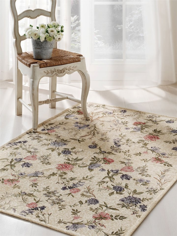 En tapis welcome to my cosy cottage pinterest best for Tapis shabby chic
