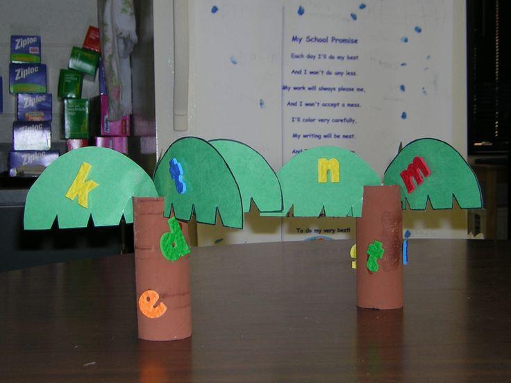 tree activities for preschoolers   Chicka Chicka Boom Boom