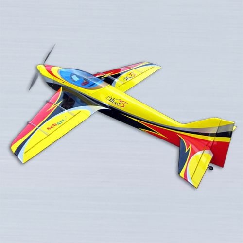 The new Wind S 50E ARF was designed by Italy aerobatic pilot Sebastiano Silvestri, it is the replica of his 2 meter size F3A competition airplane, 4rd at the F3A World Championships in Portugal 2009. This professional ARF kit is the result of Sebastiano's 20 years experience in F3A world and his research in best F3A performances. www.Aero-Model.com