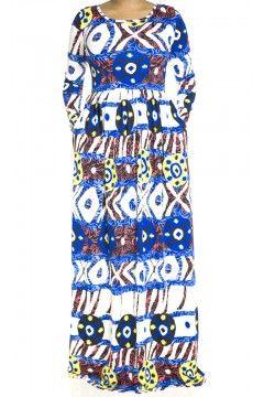 coachella print Maxi Dress