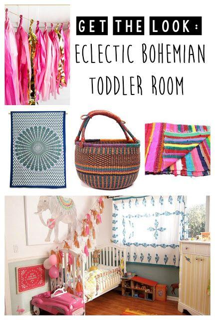 Bohemian nursery, Eclectic Bohemian Toddler Room {bohemian nursery} bohemian…
