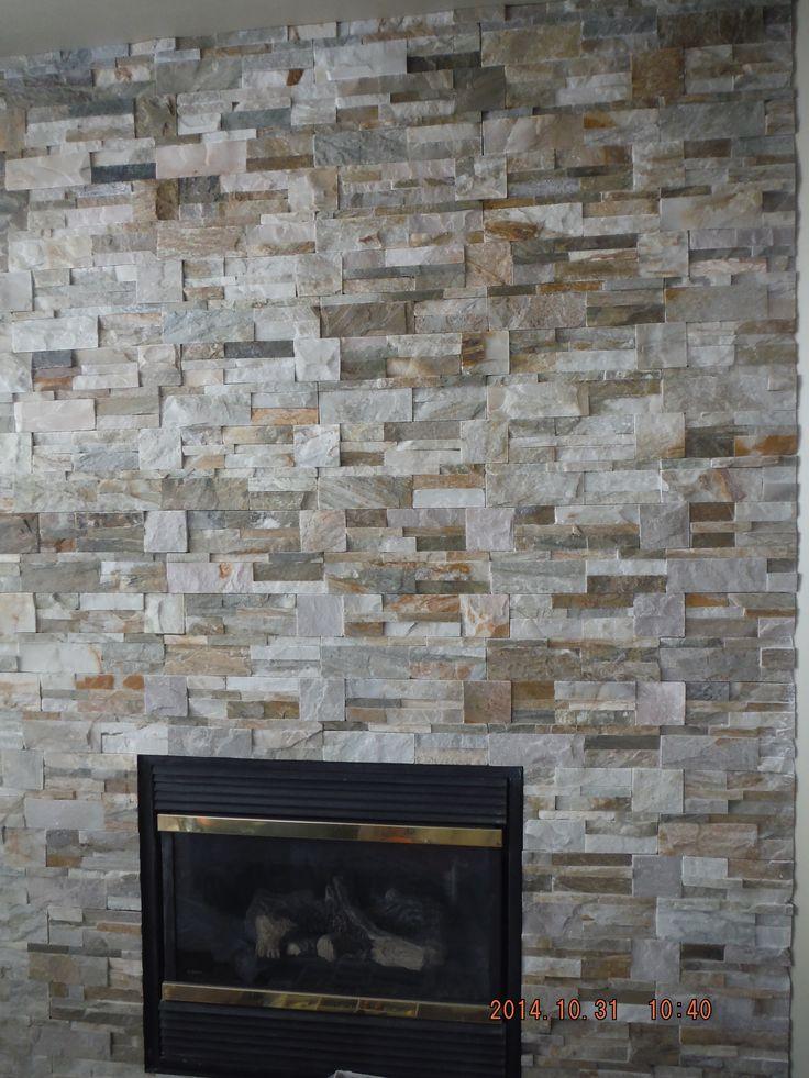 Corner fireplace with new ledger stone  Condo reno by Sylvia Camilleri  Design Inc  sylviacamilleri. 30 best Fireplace images on Pinterest   Fireplace ideas  Stone