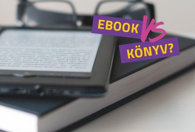 E-bookok és a papír alapú könyvek összehasonlítása