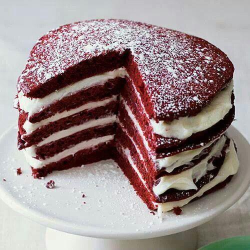 Red Velvet Pancakes :) | Yumi yumi!! | Pinterest