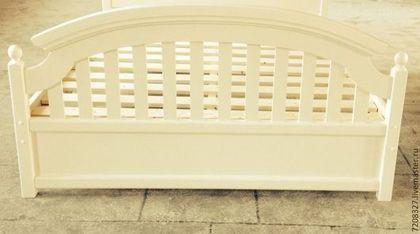 """Мебель ручной работы. 3. Кровать """"Кантри"""". Красивая мебель ручной работы. Интернет-магазин Ярмарка Мастеров. Кровать прованс"""