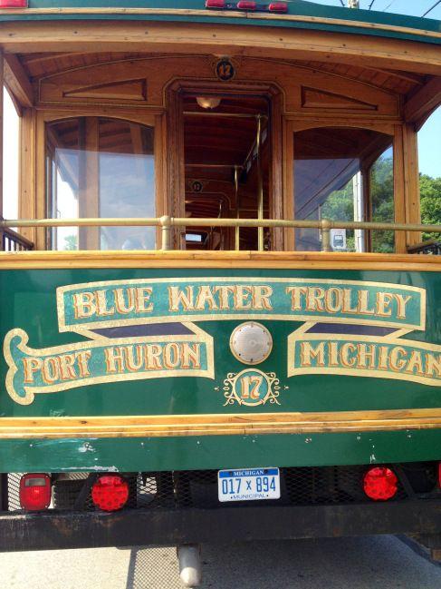 Blue Water Trolley in Port Huron, Michigan! MI