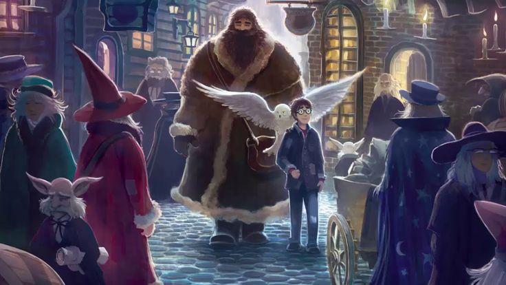 Harry Potter y la Piedra Filosofal - Capítulo 4: El guardián de las llav...