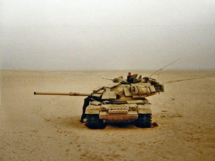 USMC M60A1 RISE Passive during combat in Operation Desert ...