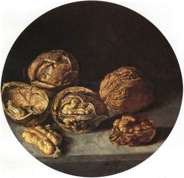 Antonio de Pereda, Still Life with Walnuts, 1635