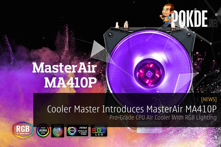 Have a look at Cooler Master's new MasterAir MA410P!   Share this:   Facebook Twitter Google Tumblr LinkedIn Reddit Pinterest Pocket WhatsApp Telegram Skype Email Print