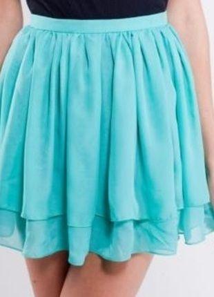 Kup mój przedmiot na #Vinted http://www.vinted.pl/kobiety/spodnice/9121318-szyfonowa-zwiewna-mietowa-spodniczka-cocktail-shock