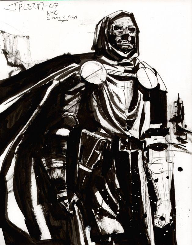 cowboyscientist:    Dr. Doom by John Paul Leon    DOOOOOOOM!