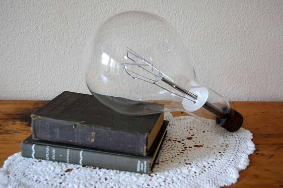 Vintage Large Incandescent Light Bulb Mogul Base Light Bulb