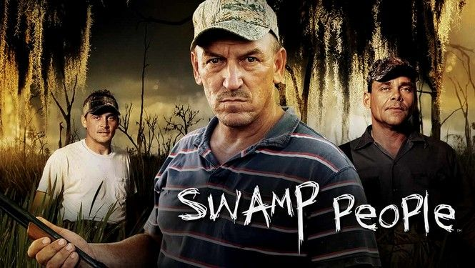 Swamp People now on Netflix Instant WOOHOOO!