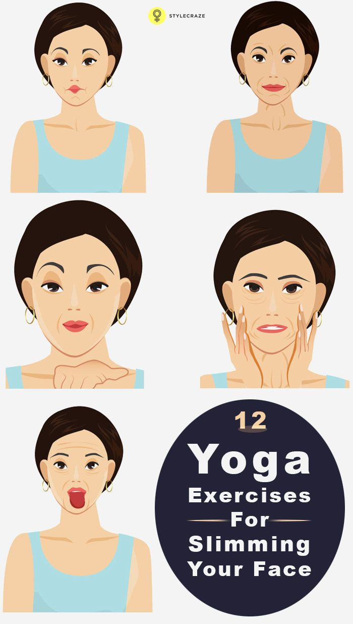 Most of us are so worried about the fat in our body that we forget to notice the fat in our face. Here is all about Yoga exercises for slimming your face, look on to know more