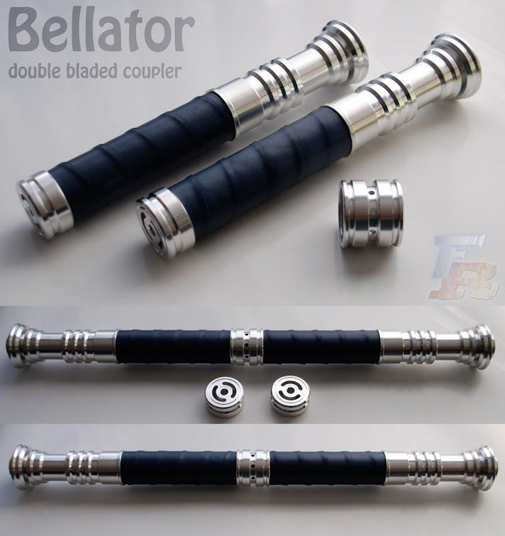 Double Bladed Bellator lightsaber by ForceRelics on @DeviantArt