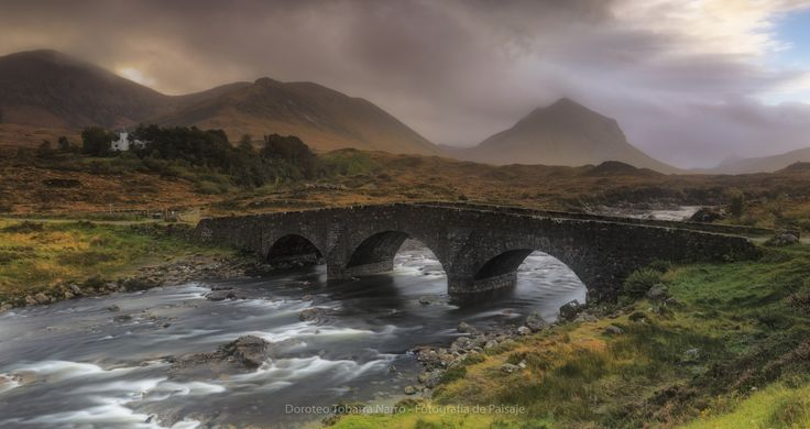 The Bridge at Sligarchan - null
