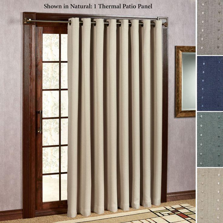 Best 25+ French door curtains ideas on Pinterest