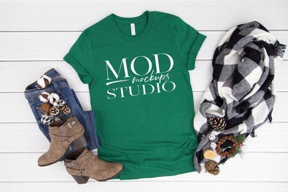Download Download Free Evergreen Heather Bella Canvas 3001 T Shirt Mockup Holiday Psd Free Psd Mockups Templates In 2020 Clothing Mockup Mockup Free Psd Shirt Mockup