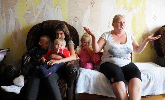 Под Воронежем многодетная мать-одиночка живёт на 1 200 рублей в месяц