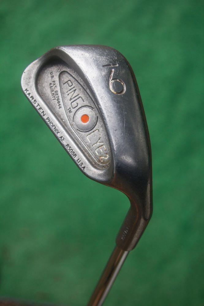 Used Ladies Golf Clubs >> Ping Eye2 Orange Dot 9 Iron Used Golf Club Ping