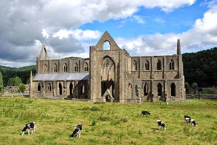 The Allen Ginsberg Project: Meditation and Poetics - 36 (William Wordsworth) [Tintern Abbey - Gothic Cistercian Abbey Ruins on the River Wye in South Wales - immortalized in William    Wordsworth's poem]