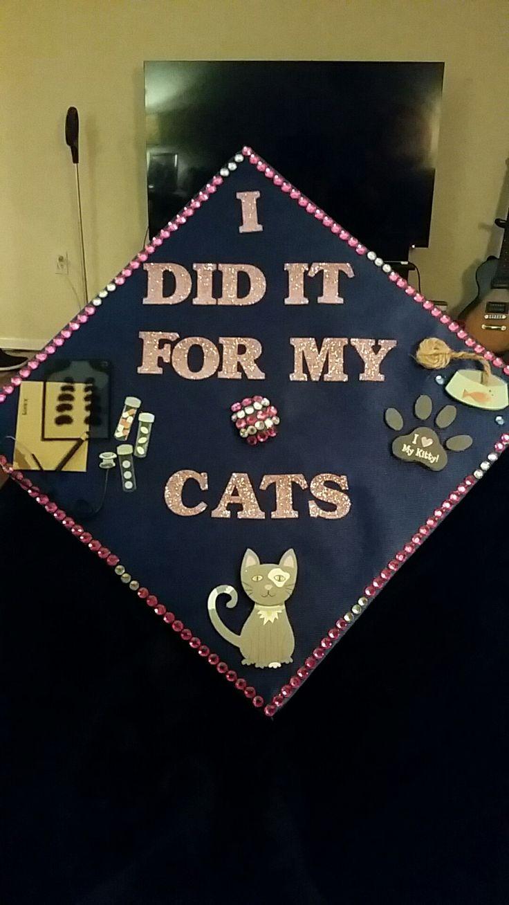 vet tech graduation cap