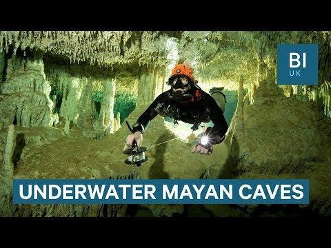 Divers discover 215-mile-long cave in Mexico full of Mayan relics - YouTube - CURRENT EVENTS