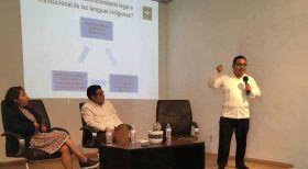Pluralismo jurídico y multilingüismo, temas transversales en Escuela Judicial de Oaxaca