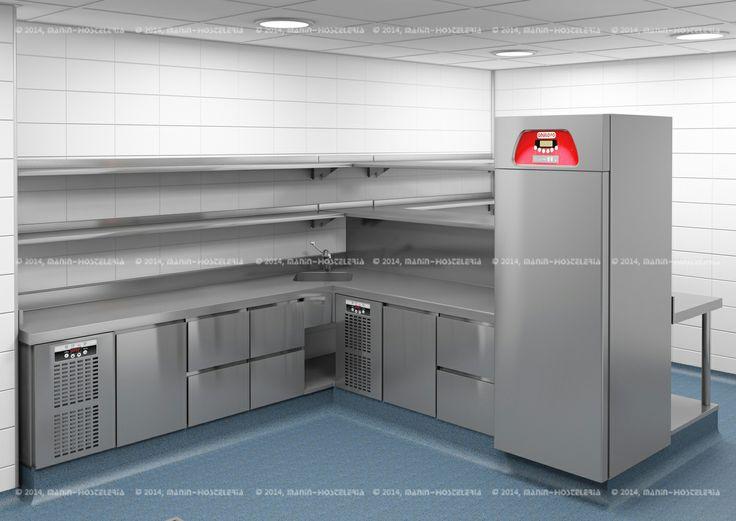 Mejores 14 im genes de restaurante marisquer a civera - Cuarto frio cocina ...