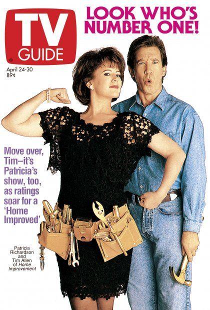 Tv Guide April 24 1993 Patricia Richardson And Tim