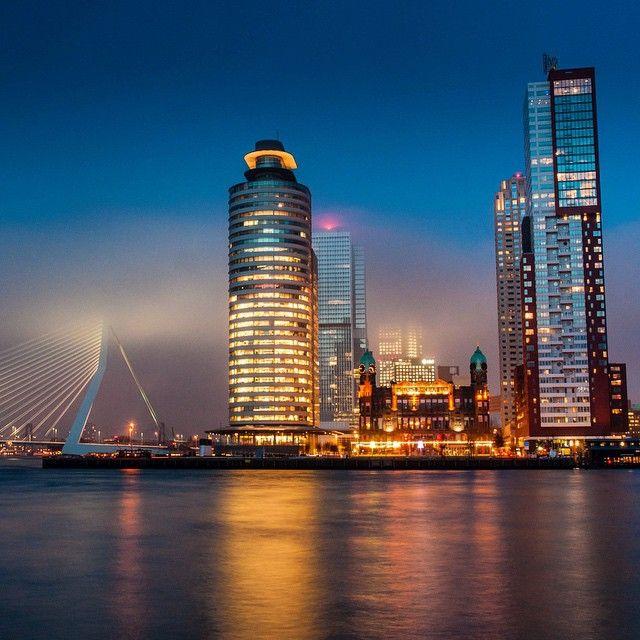 #Rotterdam skyscrapers Photo: @brouwer85