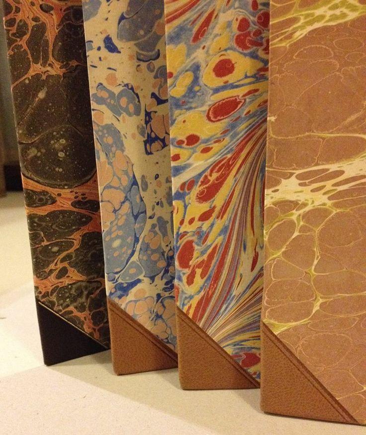 Papiery Studio Ebru, oprawa książki ArtBOOKStudio Grzegorz Lewandowski