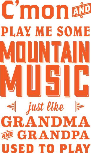 "chunkydunkingmermaid:  ""Mountain Music"" by Alabama, By Shannon Smith"