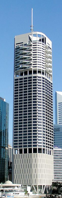 Riparian Plaza, Eagle Street, Brisbane