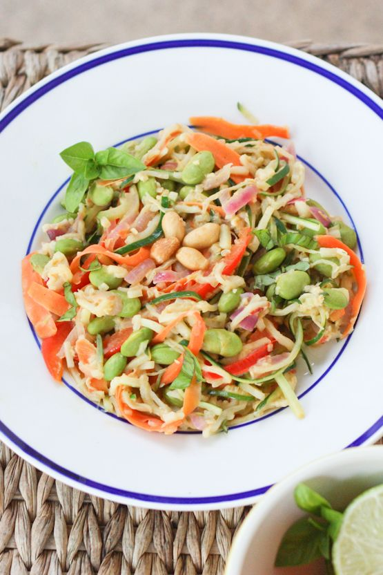 ... . It's so easy to make! | Zucchini noodles, Sauces and Peanut sauce