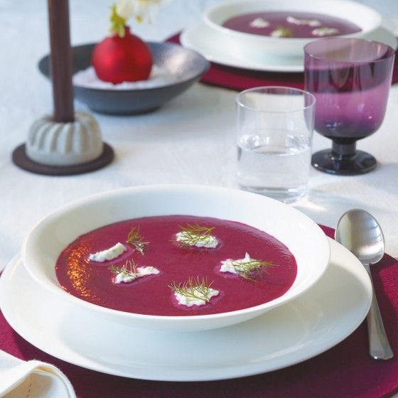 Rote-Bete-Cremesuppe