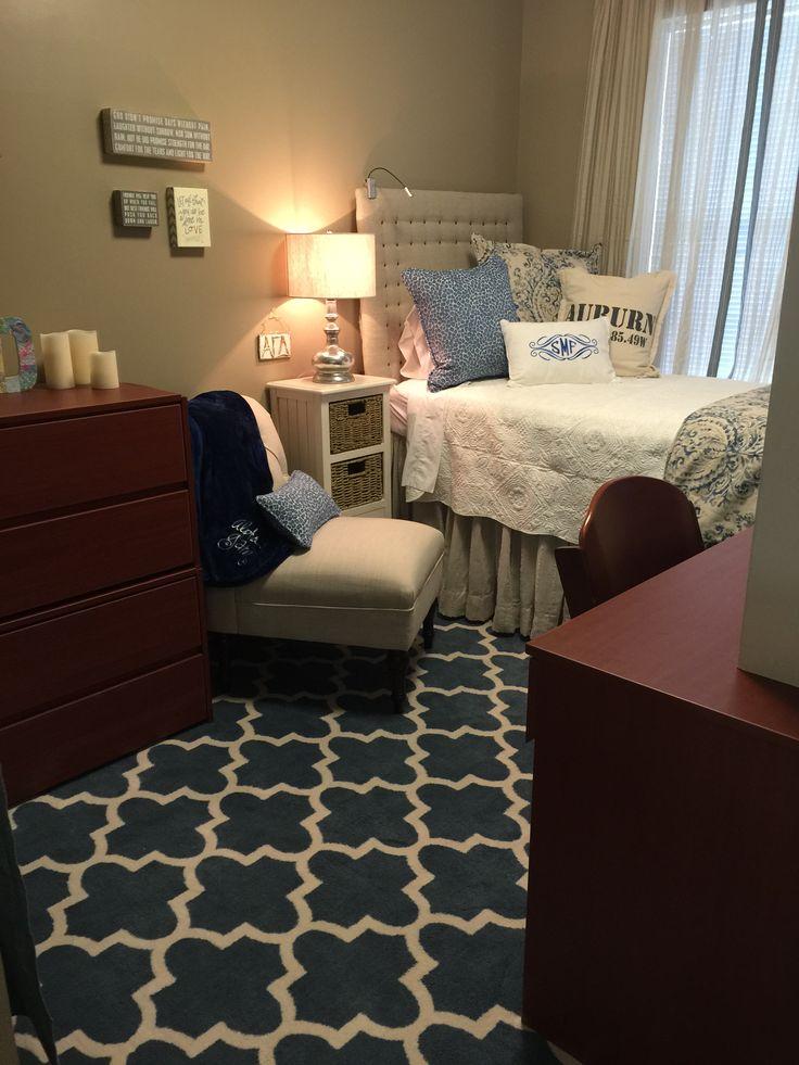 Auburn Village Dorm Room Single Dorm Room Dorm Room Decor
