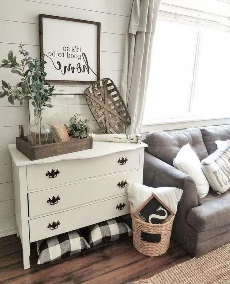 70+ Amazing Farmhouse Living Room Decor Ideas – Page 41 of 76 #farmhousedecoratingideasbedroom
