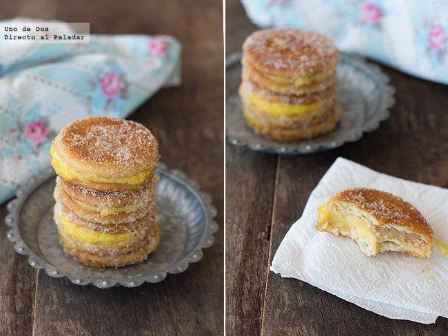 Receta de galletas fritas con crema paso  a paso http://www.directoalpaladar.com/postres/receta-de-galletas-fritas-con-crema