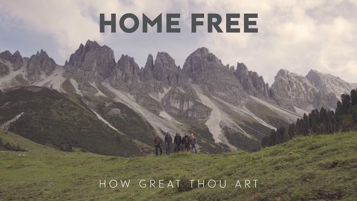 Home Free - How Great Thou Art WISHING YOU ALL A PEACEFUL, KIND AND LOVING SUNDAY.
